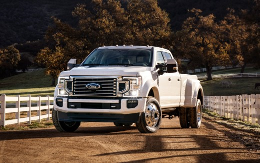 2020 Ford F-450 Super Duty Limited Crew Cab 4K Wallpaper ...