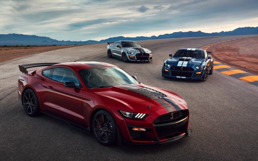 2020 Ford Mustang Shelby GT500 4K 3