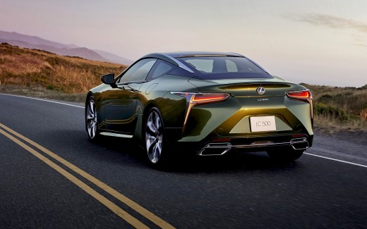 2020 Lexus LC 500 Inspiration Series 4K 2