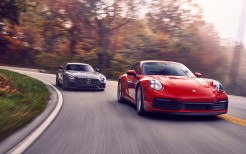 2020 Mercedes-AMG GT and 2020 Porsche 911 Carrera S 5K