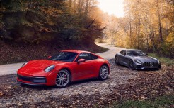 2020 Mercedes-AMG GT and 2020 Porsche 911 Carrera S 5K 3