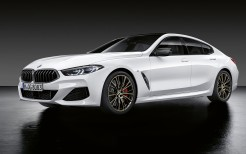BMW 8 Series Gran Coupe M Performance Parts 2019 4K
