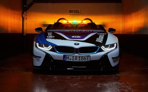 BMW i8 Roadster Formula E Safety Car 2019 4K 2