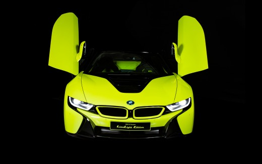 BMW i8 Roadster LimeLight Edition 2019 4K