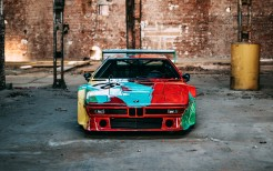 BMW M1 Group 4 Rennversion Art Car by Andy Warhol Italdesign 1979 4K