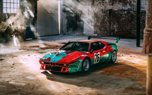BMW M1 Group 4 Rennversion Art Car by Andy Warhol Italdesign 1979 4K 4