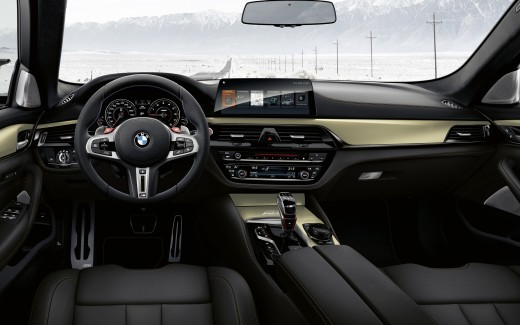 BMW M5 Competition Edition 35 Jahre 2019 Interior