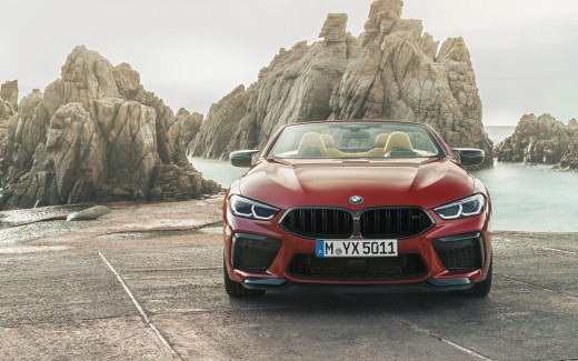 BMW M8 Competition Cabrio 2019 4K 2