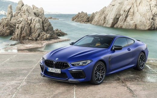 BMW M8 Competition Coupe 2019 4K