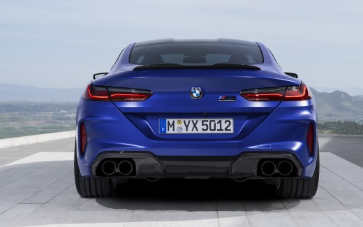 BMW M8 Competition Coupe 2019 4K 3