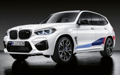 BMW X3 M M Performance Parts 2019 4K