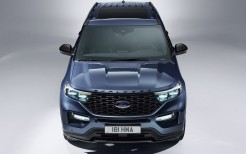 Ford Explorer Plug-in Hybrid ST-Line 2019 4K