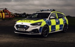 Ford Focus ST Estate Police 2019 4K