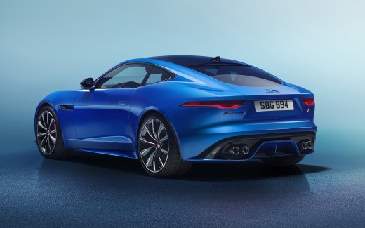 Jaguar F-Type R Coupe 2020 4K 7
