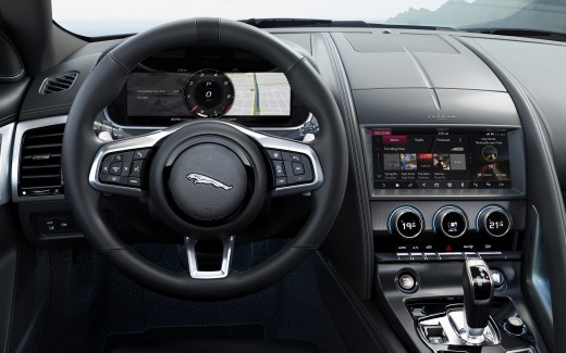 Jaguar F-Type R Coupe 2020 4K Interior