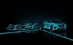 Jaguar I-Type 3 Jaguar VIP Car Jaguar I-Pace eTrophy 4K