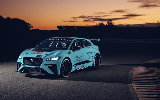 Jaguar VIP Car Jaguar I-Pace eTrophy 4K