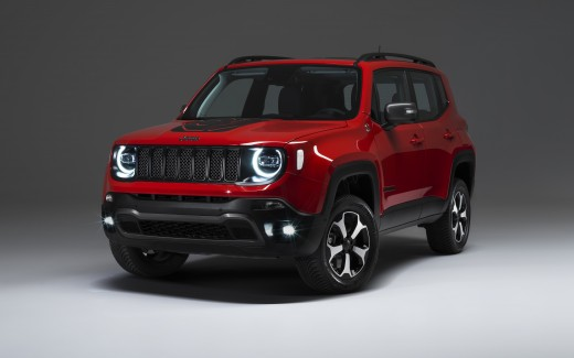 Jeep Renegade Plug-in Hybrid 2019 4K