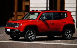 Jeep Renegade Trailhawk Plug-in Hybrid 2019 4K