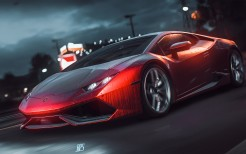 Lamborghini in Need For Speed 4K