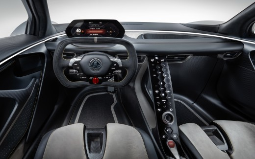 Lotus Evija 2019 4K 8K Interior