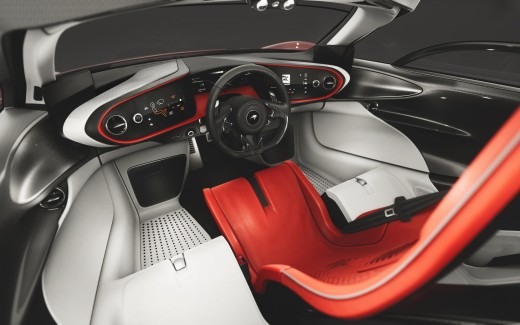 McLaren Speedtail Interior 2019 4K 5K
