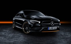 Mercedes-Benz CLA 250 AMG Line Edition Orange Art 2019 4K
