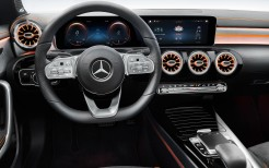 Mercedes-Benz CLA 250 AMG Line Edition Orange Art 2019 4K Interior