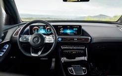 Mercedes-Benz EQC 400 4MATIC AMG Line 2019 4K Interior