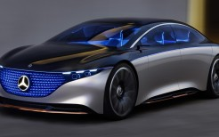Mercedes-Benz Vision EQS 2019 4K