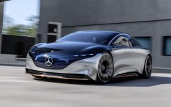 Mercedes-Benz Vision EQS 2019 4K 2