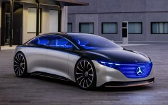 Mercedes-Benz Vision EQS 2019 4K 3