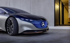 Mercedes-Benz Vision EQS 2019 4K 4