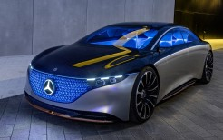 Mercedes-Benz Vision EQS 2019 4K 6
