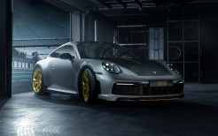 TechArt Porsche 911 Carrera 4S Coupe 2019 4K 2