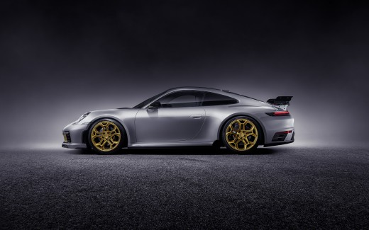 TechArt Porsche 911 Carrera 4S Coupe 2019 4K 6