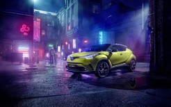 Toyota C-HR Neon Lime powered by JBL 2019 4K