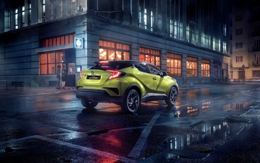 Toyota C-HR Neon Lime powered by JBL 2019 4K 2