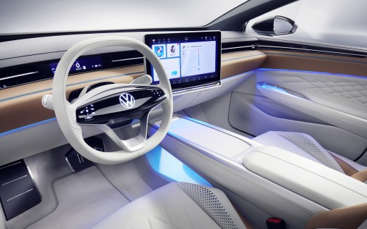 Volkswagen ID Space Vizzion 2019 4K Interior