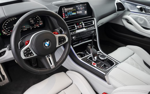 2020 BMW M8 Gran Coupé 5K Interior