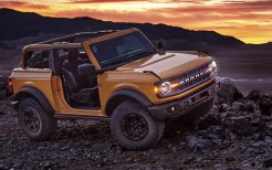 2021 Ford Bronco 2-Door Black Diamond 5K