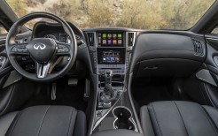 2021 Infiniti Q60 Red Sport 400 AWD 4K Interior