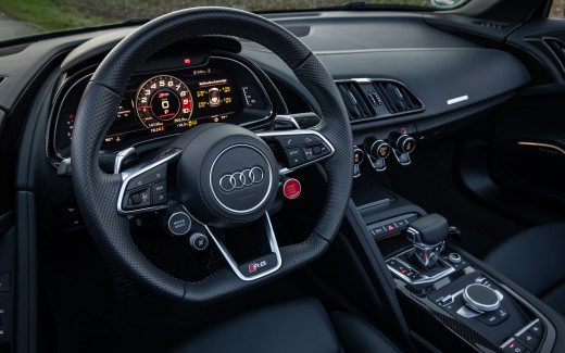 Audi R8 V10 performance Spyder 5K Interior