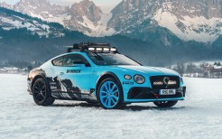 Bentley Continental GT Ice Race 2020 5K