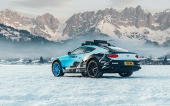 Bentley Continental GT Ice Race 2020 5K 2