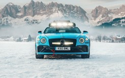 Bentley Continental GT Ice Race 2020 5K 3