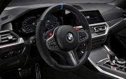 BMW M3 Competition M Performance Parts 2020 Interior 4K