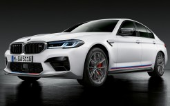 BMW M5 Competition M Performance Parts 2020 4K