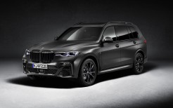 BMW X7 M50i Edition Dark Shadow 2020 4K