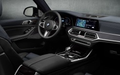 BMW X7 M50i Edition Dark Shadow 2020 4K Interior